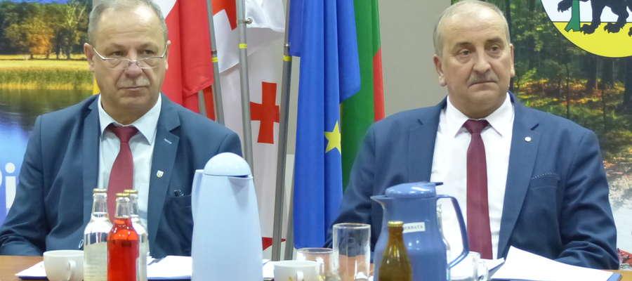 (od lewej) Andrzej Nowicki oraz Marek Wysocki