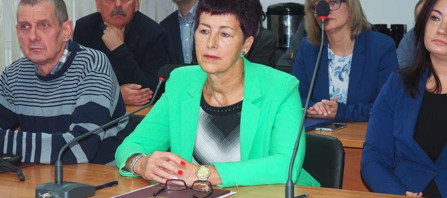 Krystyna Wasiak jest nową Przewodnicząca rady Gminy Działdowo