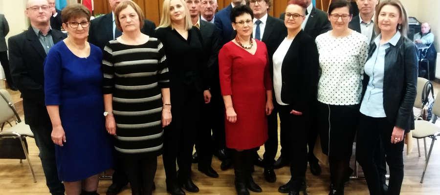 Nowa Rada Miejska w Bisztynku na I sesji VIII kadencji