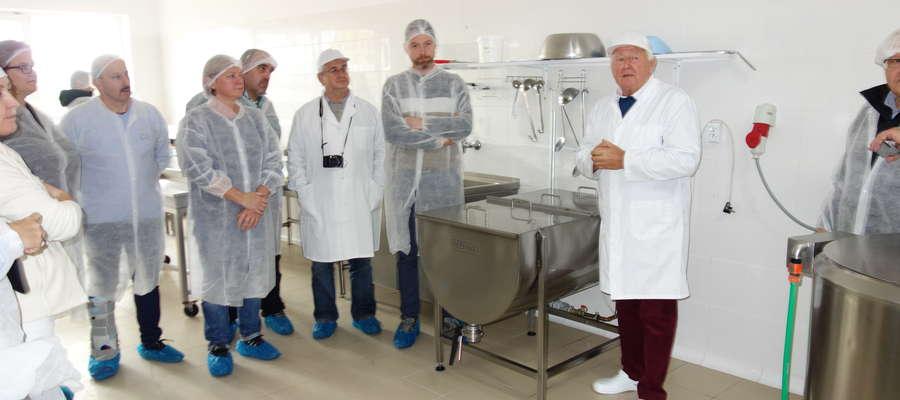 Lidzbark Warmiński odwiedzili goście z kilku krajów europejskich. Zapoznali się z niezwykłym przewodnikiem