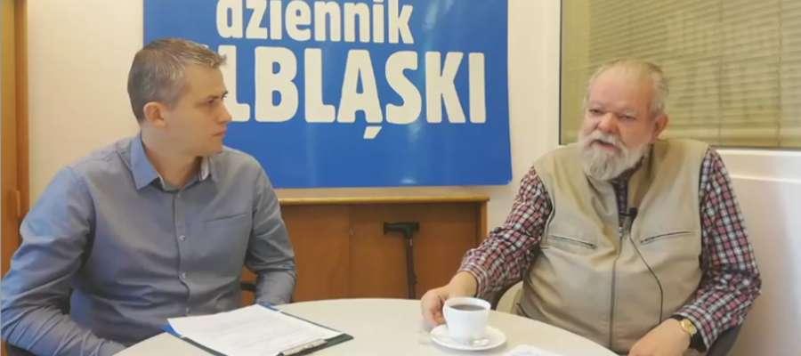 Od prawej: Jacek Bocheński i Arkadiusz Kolpert (Dziennik Elbląski)
