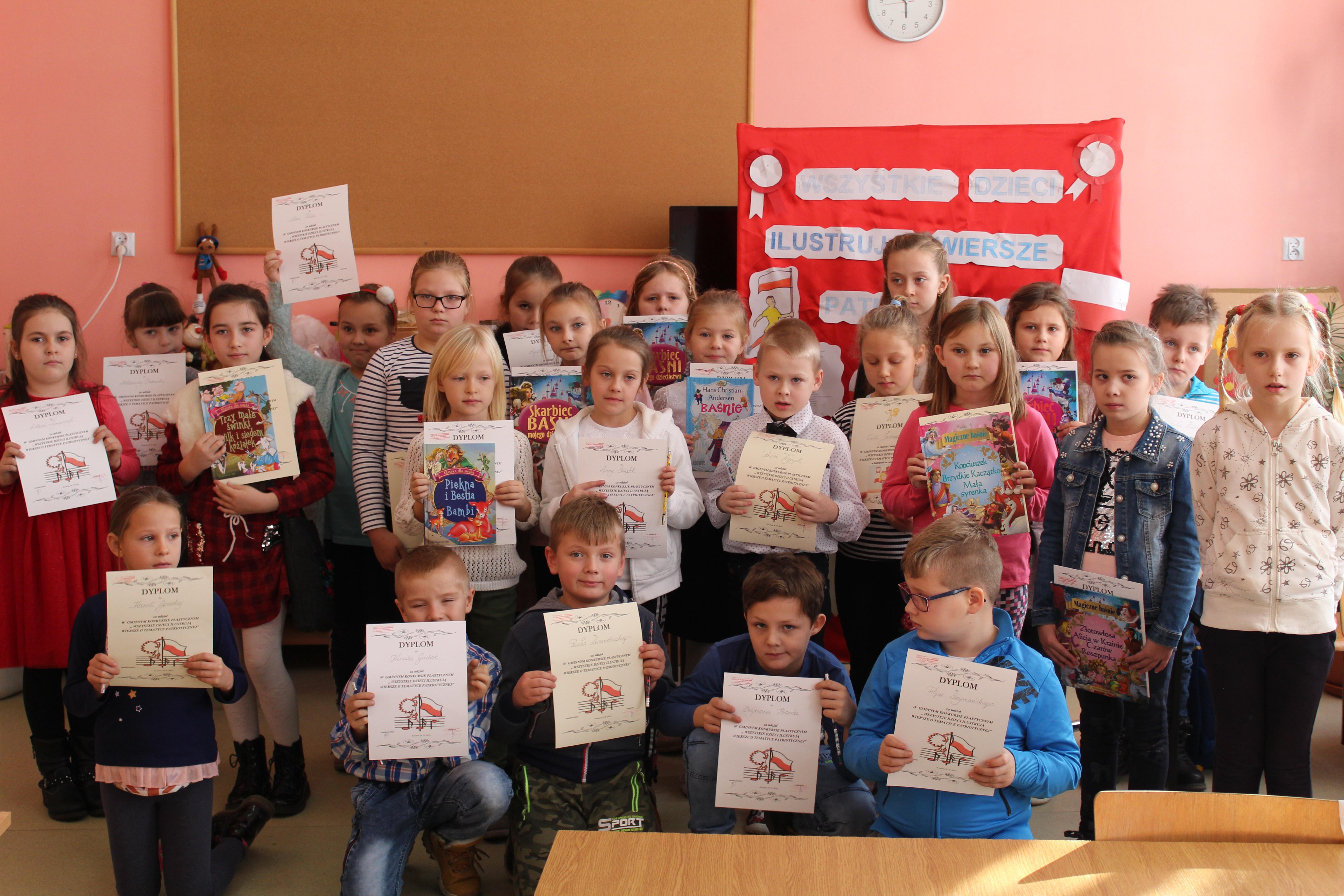 Uczniowie Ilustrowali Patriotyczne Wiersze żuromin
