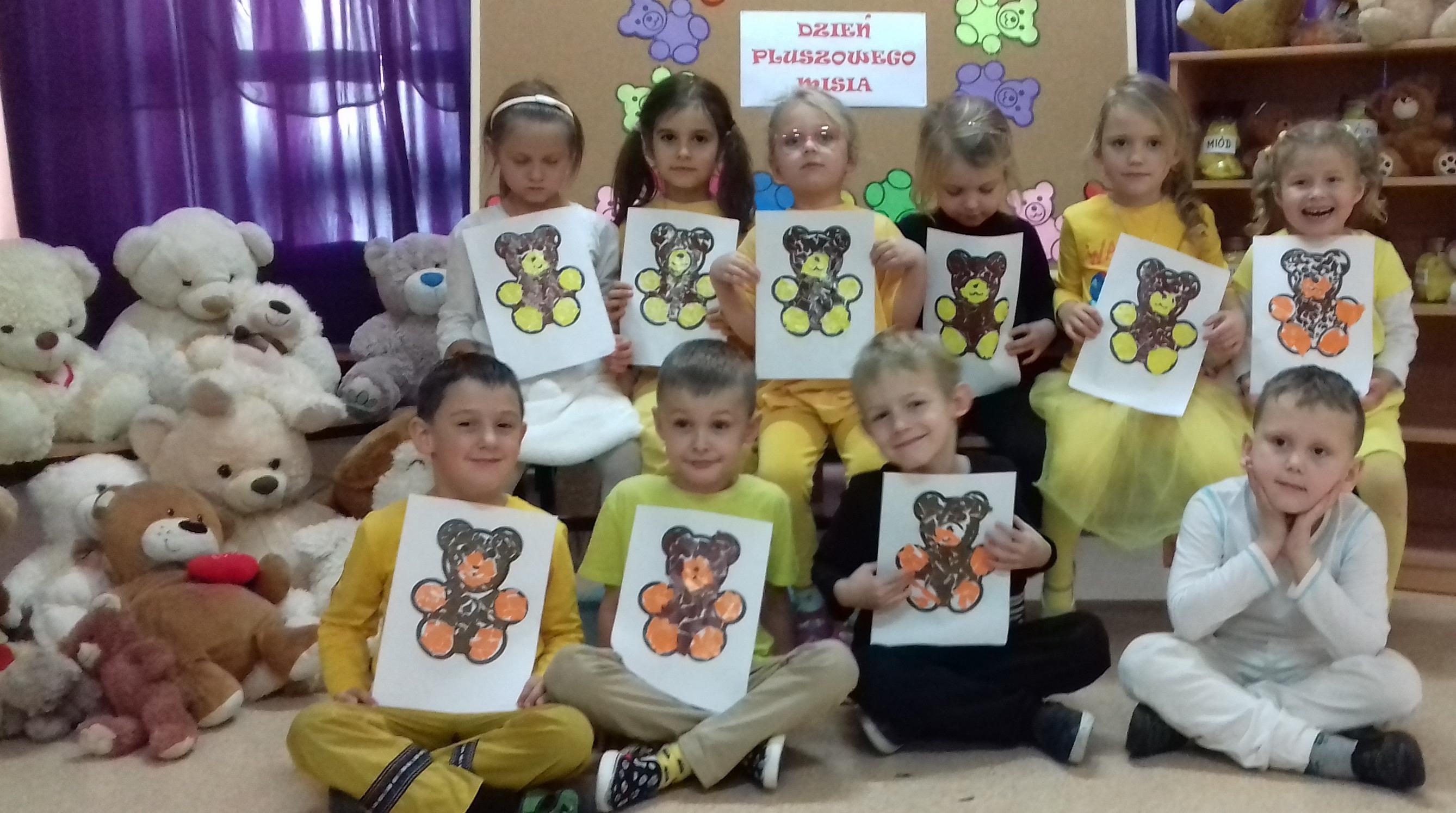 Dzień Pluszowego Misia U Przedszkolaków W Zspim Nowe