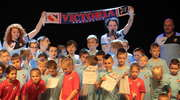 Mali piłkarze Victorii Bartoszyce zaprezentowali się na scenie BDK
