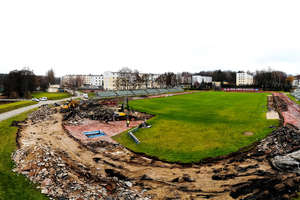Przebudowa ruszyła. Stadion w Olsztynie w końcu doczeka się remontu