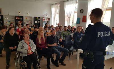 Policjanci rozmawiali z mieszkańcami gminy Braniewo o ich bezpieczeństwie