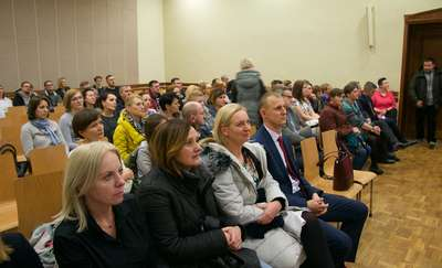 O reformie oświaty na konferencji w Zespole Szkół