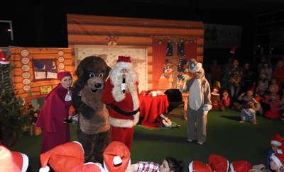 Święta z Maszą i Niedźwiedziem w nidzickiej hali