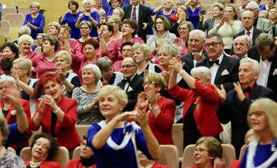 Seniorzy zaśpiewali na uniwersytecie [ZDJĘCIA, VIDEO]