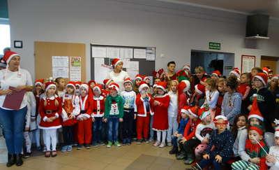 Mikołaj z wizytą u Perełek