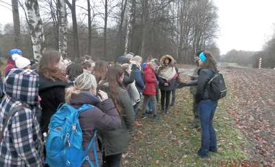 Uczniowie z czterech krajów odwiedzili straż graniczną, m.in. w Bezledach