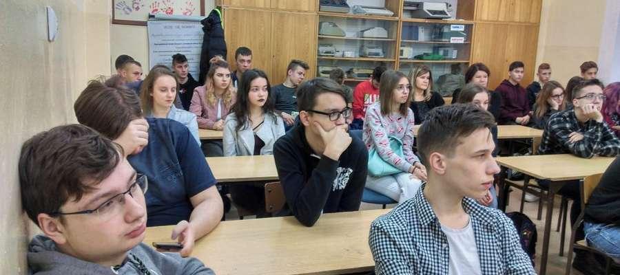 Uczniowie wzięli udział w warsztatach o przeciwdziałaniu przemocy
