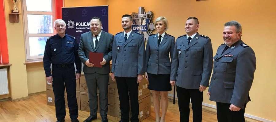 Praca policjantów doceniona przez samorządowców