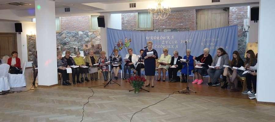 Klub Seniora + w Działdowie obchodził swoje 15-lecie