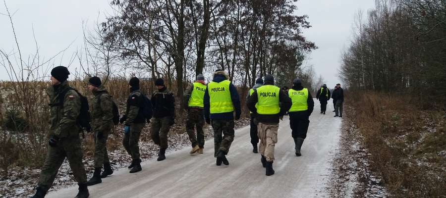 Poszukiwania Heleny Milewskiej 14 grudnia 2018 r.
