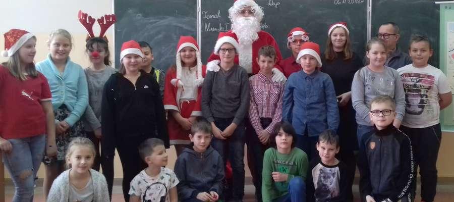 Każdy chciał mieć zdjęcie z Mikołajem