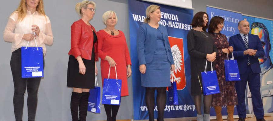 Podczas uroczystości wręczenia certyfikatów w Olsztynie