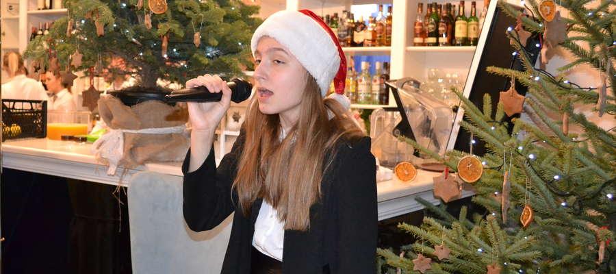 Podczas występu w Restauracji Szlacheckiej w Mortęgach