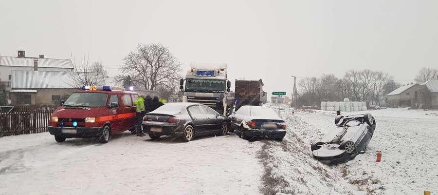 Wypadek w Byszwałdzie