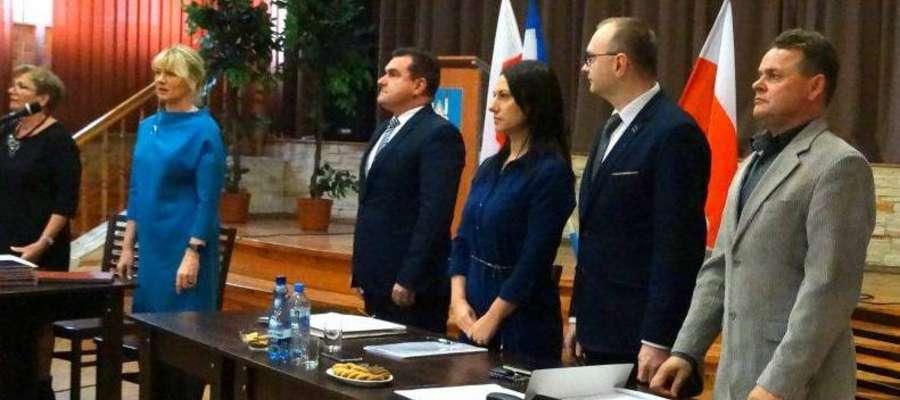 Inauguracyjna sesja rady gminy