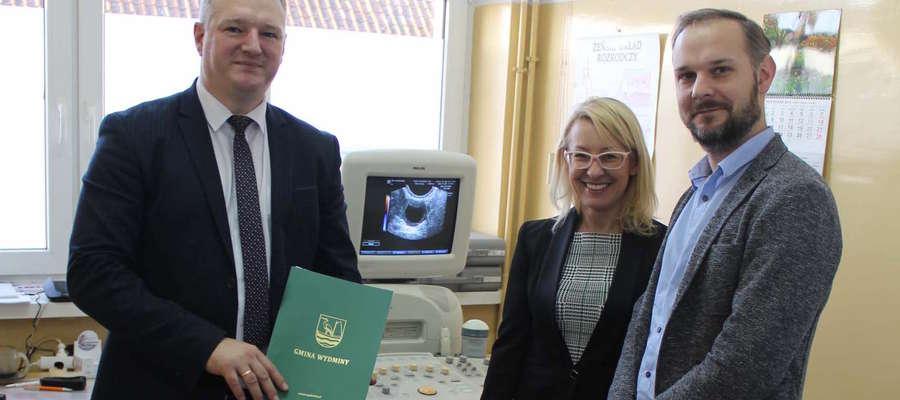Nowy ultrasonograf w Poradni K