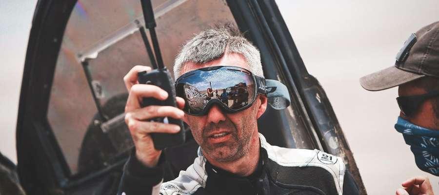 Sebastian Rozwadowski, olsztyński pilot rajdowy, uczestnik Rajdu Dakar