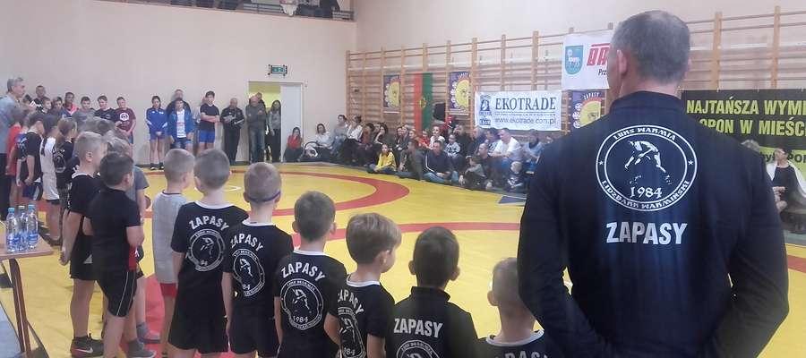 W turnieju wzięło udział ponad 60 młodych zawodniczek i zawodników liczących od 6 do 13 lat