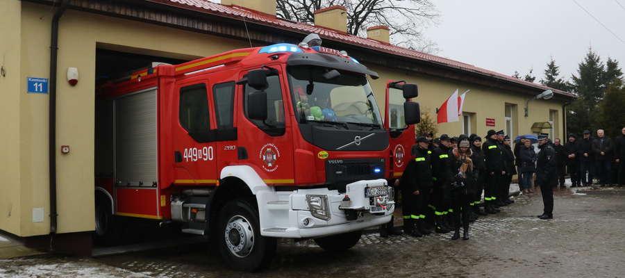 Nowy wóz strażacki dla OSP Kamionki