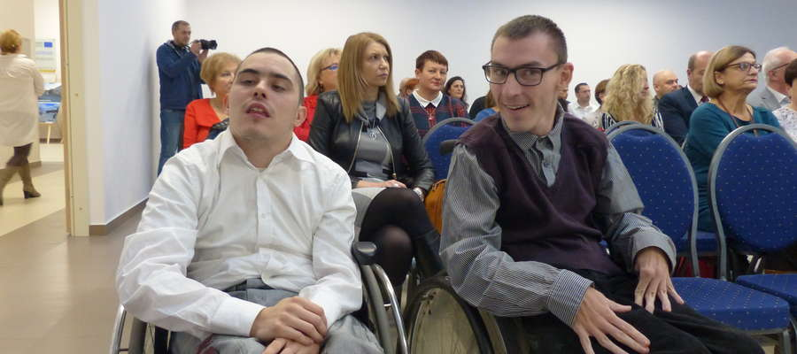Najważniejszymi gośćmi na urodzinach WTZ-u Iława byli oczywiście jego podopieczni