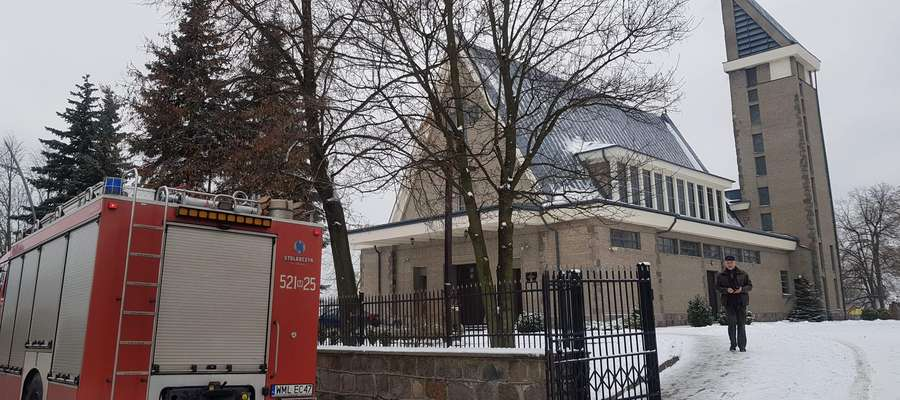 Na szczęście alarm o pożarze wólczańskiego kościoła był fałszywy