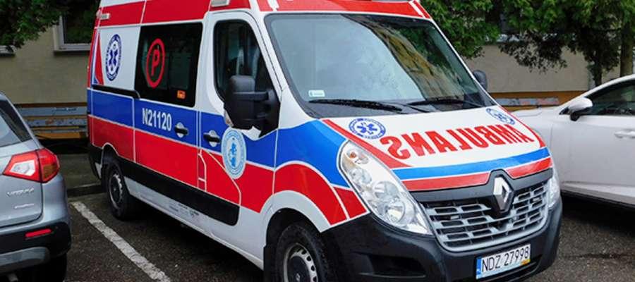 Nowy ambulans kosztował 327 849,36 zł brutto