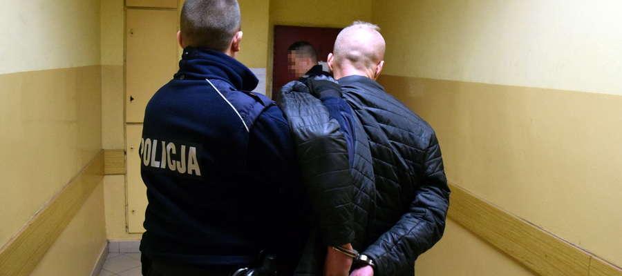 Mężczyzna został zatrzymany przez policjantów z Elbląga