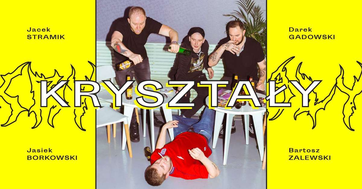 Kryształy: Stramik / Gadowski / Borkowski / Zalewski w Olsztynie - full image