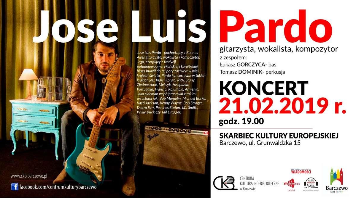 Koncert Jose Luisa Pardo w Barczewie - full image