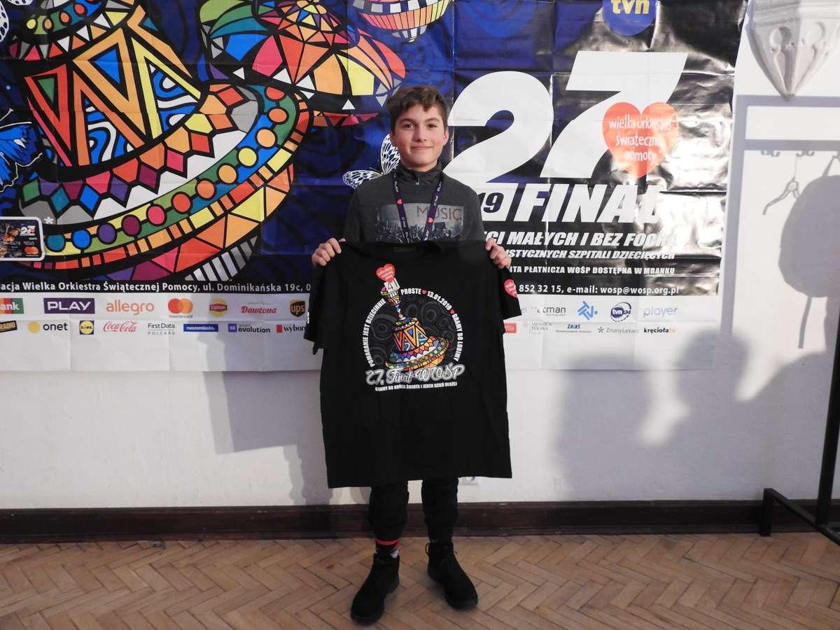 Jakub Wiśniewski uzbierał najwięcej pieniędzy
