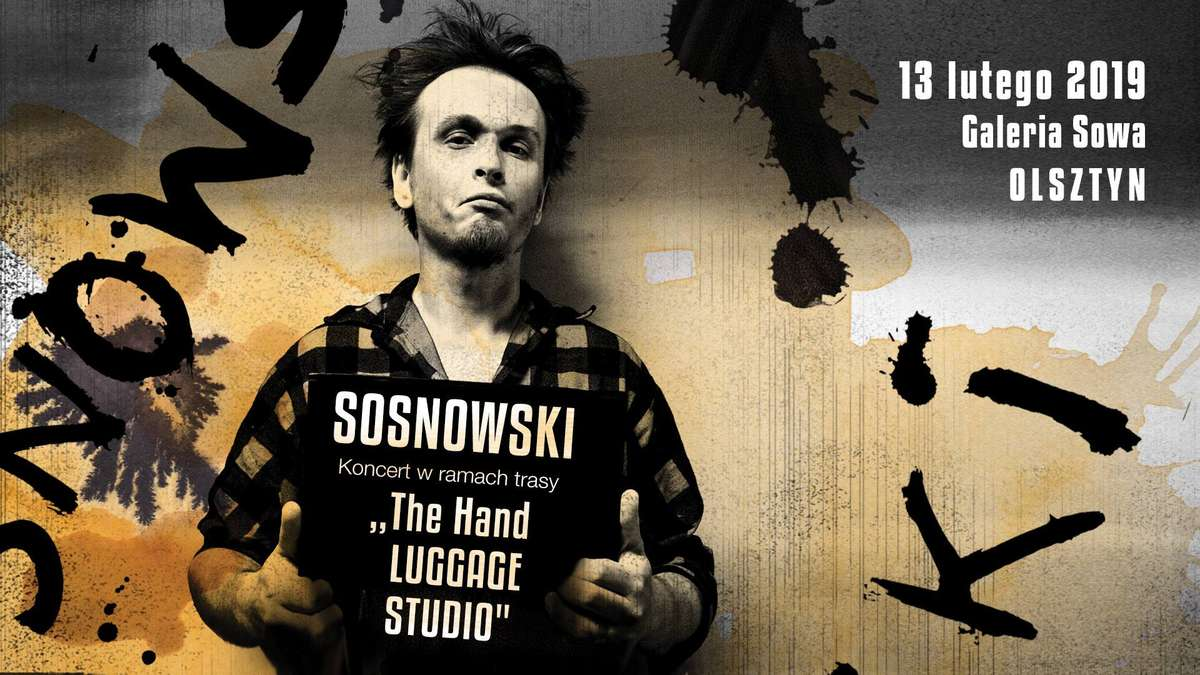 Koncert Sosnowskiego w Galerii Sowa Olsztynie - full image