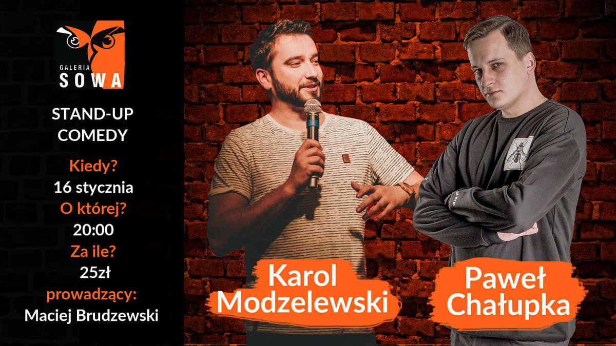 Stand-Up w Sowie Modzelewski x Chałupka x Brudzewski - full image