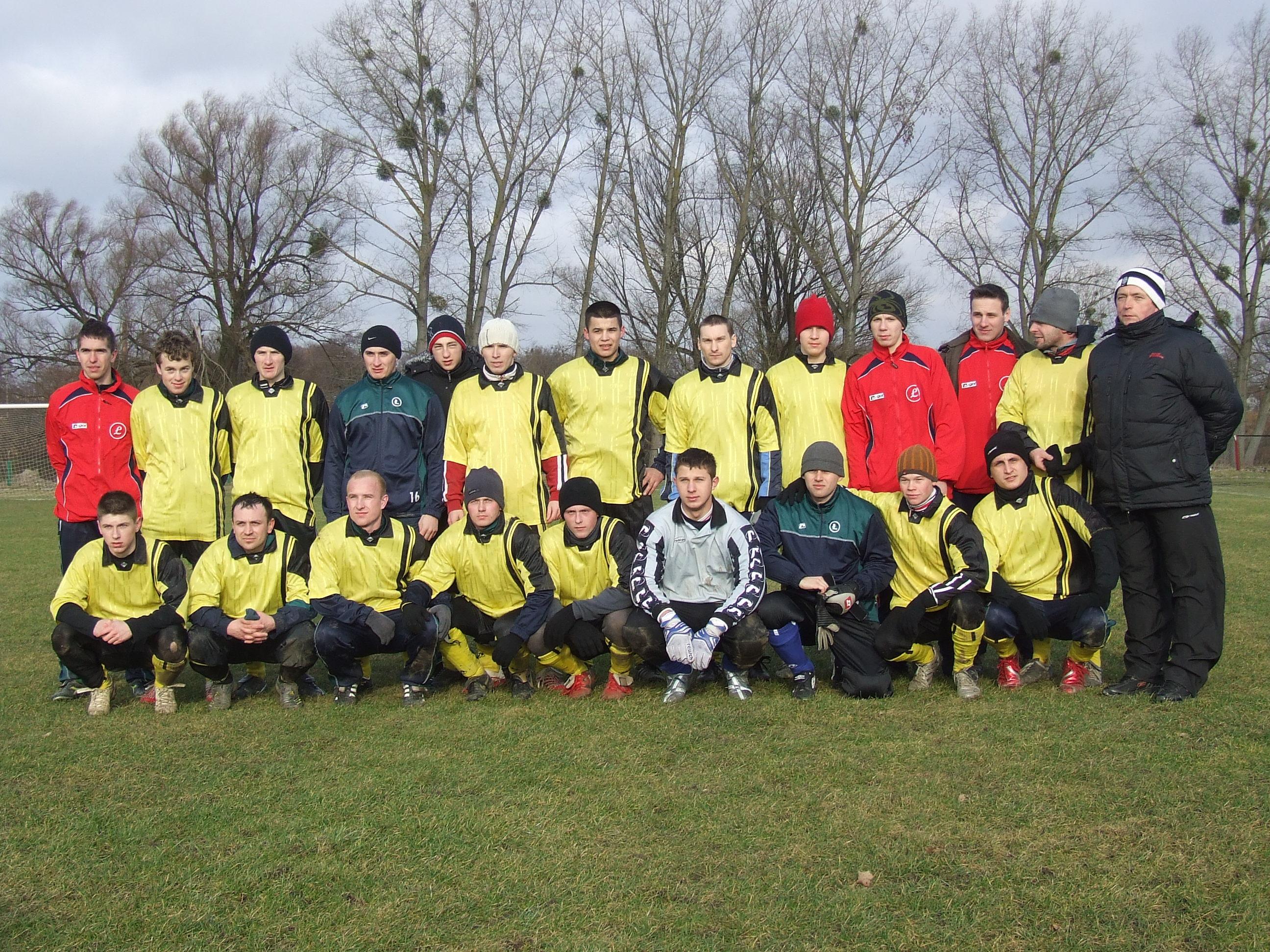 Zimowy turniej w Sępopolu — rok 2008