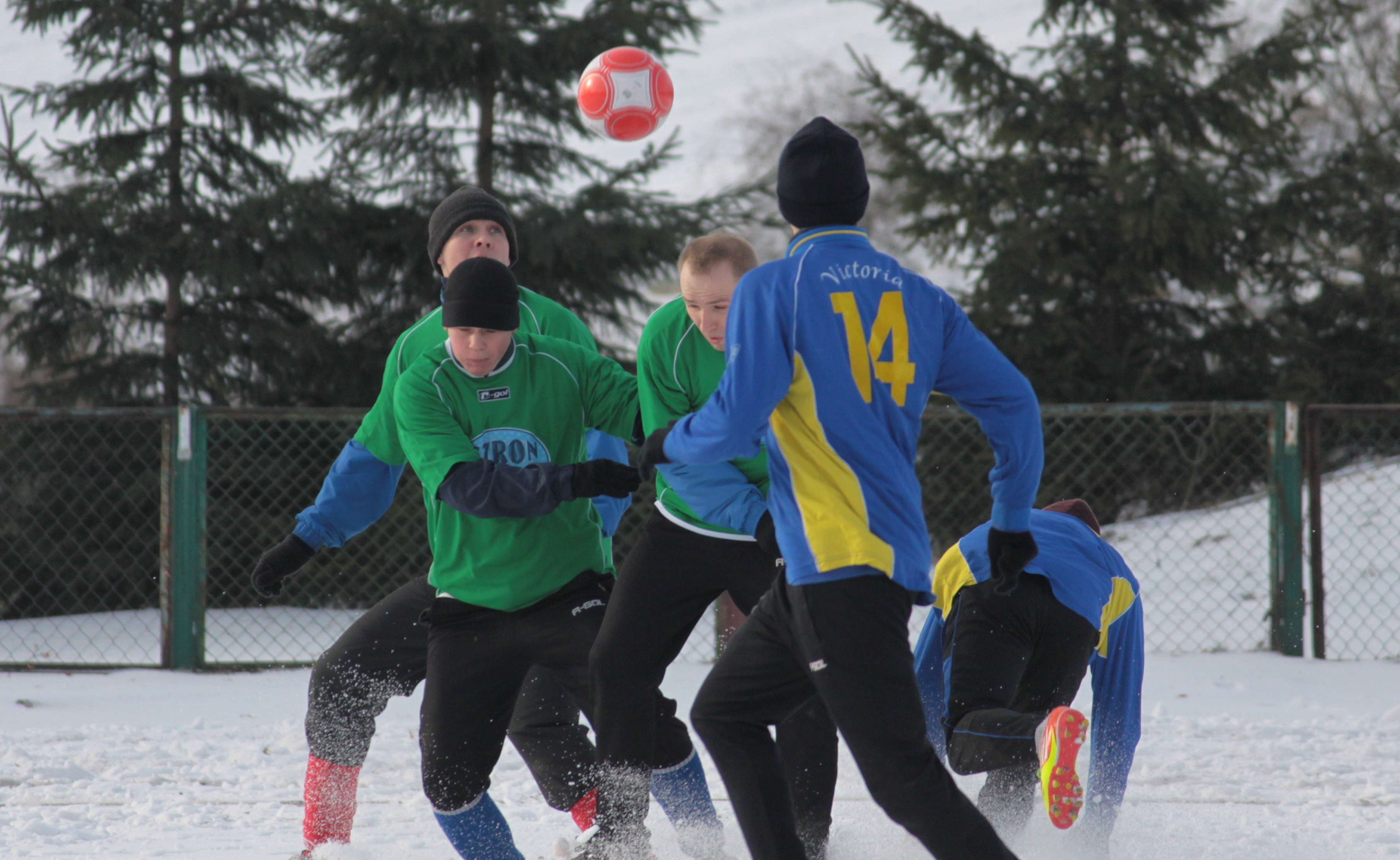 Zimowy turniej w Sępopolu — rok 2014