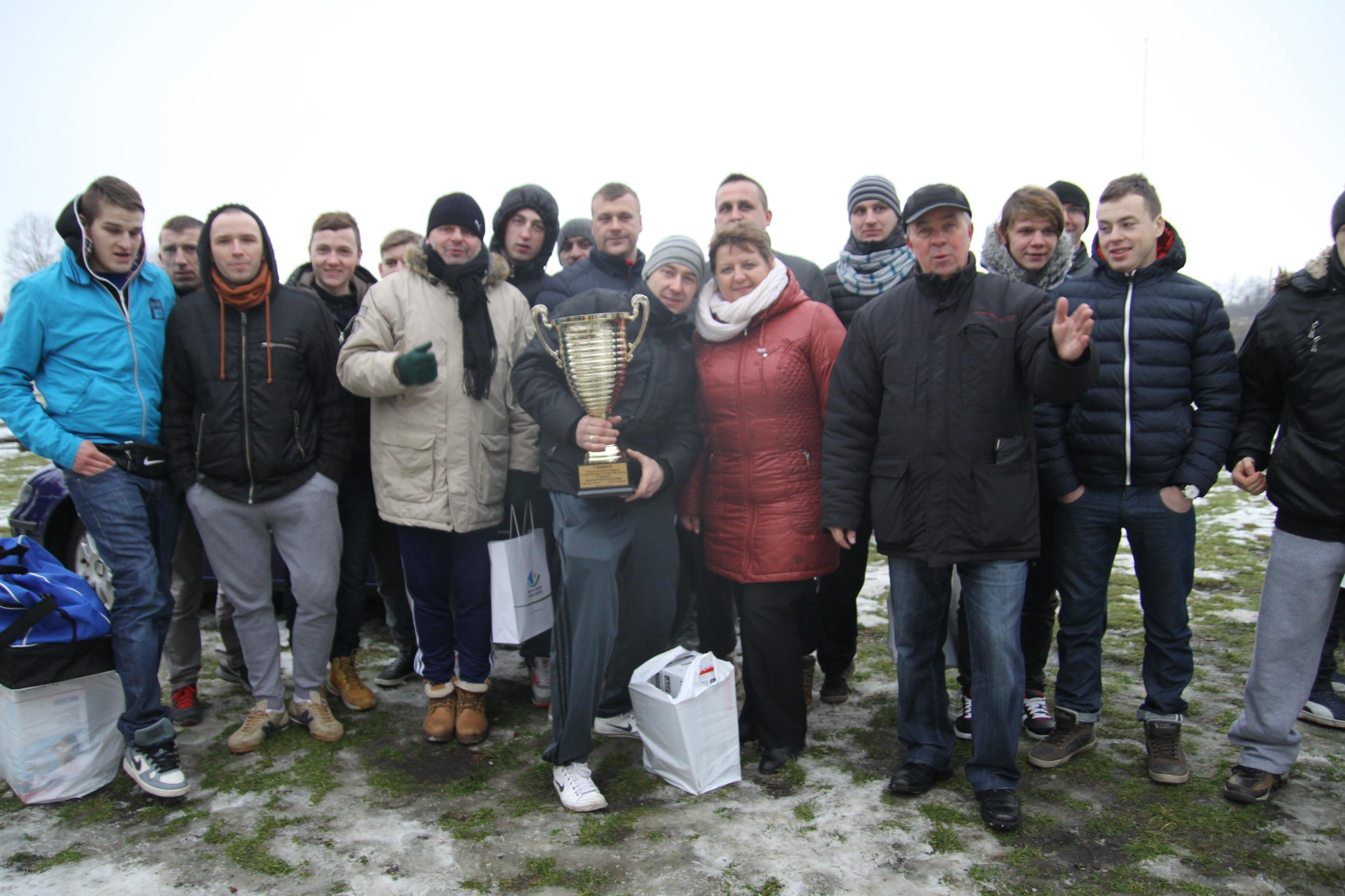 Zimowy turniej w Sępopolu — rok 2015