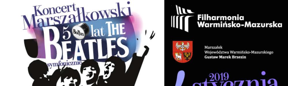 Koncert Marszałkowski - 50 lat - The Beatles symfonicznie