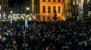 Mieszkańcy Morąga i okolic na wiecu w Gdańsku