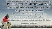 """Zapraszamy na Podlodowe Mistrzostwa Koła """"Okoń"""" w Olecku"""