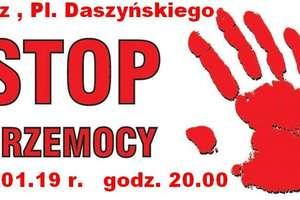 Stop przemocy. Światełko pamięci Pawła Adamowicza w Piszu