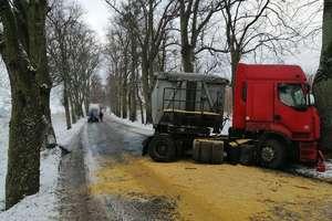 Uwaga, drogi lokalne są oblodzone!