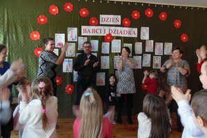 Święto babć i dziadków w szkole w Boleszynie