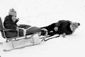 Zimowy Brzdąc: Emma i Bruno Hespeler