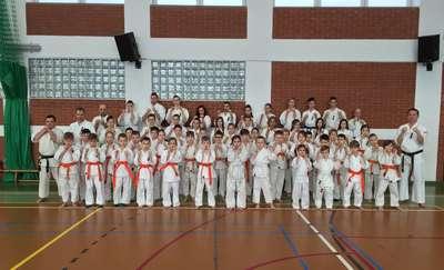 Oleccy karatecy zdawali wymagający egzamin