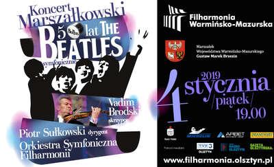 """Koncert Marszałkowski - 50 lat - """"The Beatles"""" symfonicznie"""