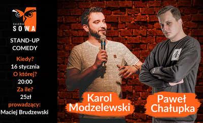 Stand-Up w Sowie Modzelewski x Chałupka x Brudzewski